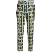 Etro Printed Crepe Tapered Pants 2018 new style HFSGJZZ