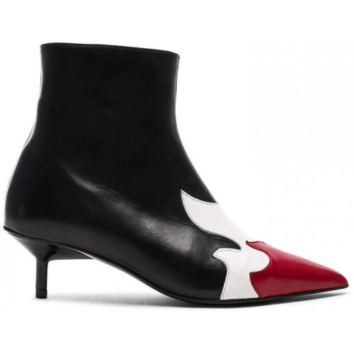 Marques Almeida Marques ' Almeida Pointy Kitten Heel Flame Boot 2018 new style TUEEMUP