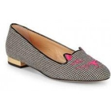 Charlotte Olympia Kitty Ballet Flats 2018 new style APPFWHS