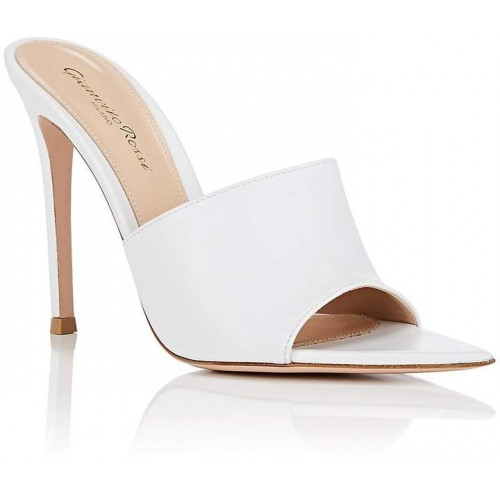 Gianvito Rossi Women's Alise Leather Mules 2018 new style JOLXALZ