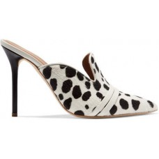 Malone Souliers Hayley Leather-trimmed Animal-print Calf Hair Mules - Leopard print 2018 new style FXHPKIY