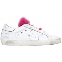 Golden Goose 20mm Super Star Leather & Mink Sneakers 2018 new style GNFBZJB