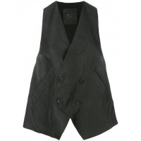Lost & Found Rooms Buttoned Over Vest - New Season W22722231 WUUXPJB