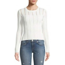 Bailey 44 Siberian Pointelle Knit Ribbed Sweater 2018 new style QPUAHLK