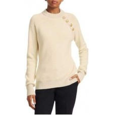 Balmain Buttoned Cashmere-Blend Pullover Sweater 2018 new style HGCMDGP