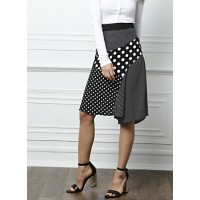 all about you from Deepika Padukone Black & White Polka Dot Print A-Line Skirt 6755289 PAFPSHA