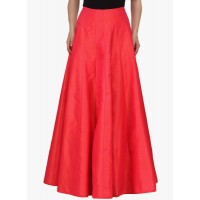 Just Wow Red Flared Skirt 3643633 ITFWRXJ