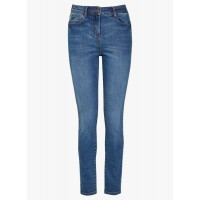 next Navy Blue Mid-Rise Skinny Fit Jeans 7037372 DLVXBKF