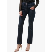 next Navy Blue Solid Slim And Shape Boot Cut Jeans 5788780 ODNRWIE